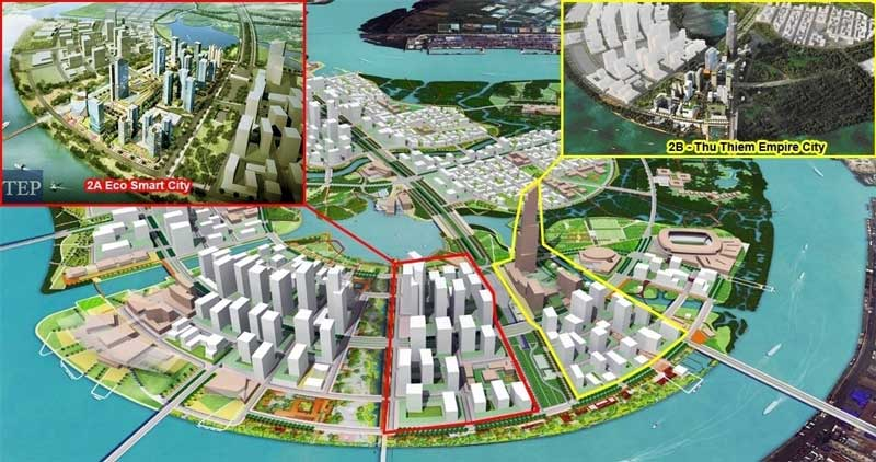toan canh du an eco smart city